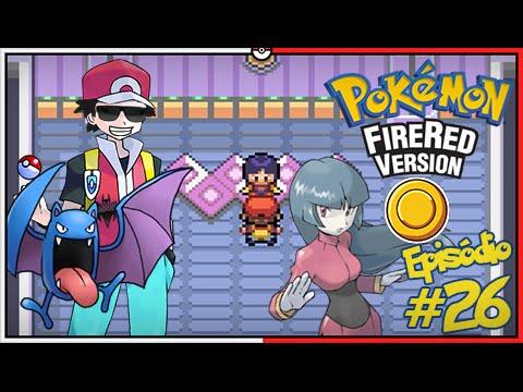 Pokémon Fire Red Let's Play #26: Enfrentando a Sabrina, Líder do Ginásio de Saffron