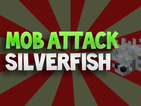 Minecraft Mob Attack! - Silverfish