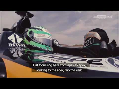 How to drive a Formula 1 car featuring Nico Hulkenberg