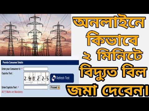 How To Pay Electricity Bill At Home | Pay Bill Online | Bangla