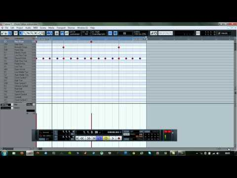 Humanizing programmed drums in Cubase