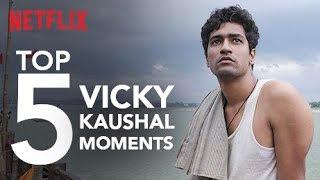 Top 5 Vicky Kaushal Moments | Netflix