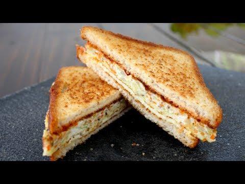 How to Make Korean Street Toast - Korean Breakfast Sandwich Recipe