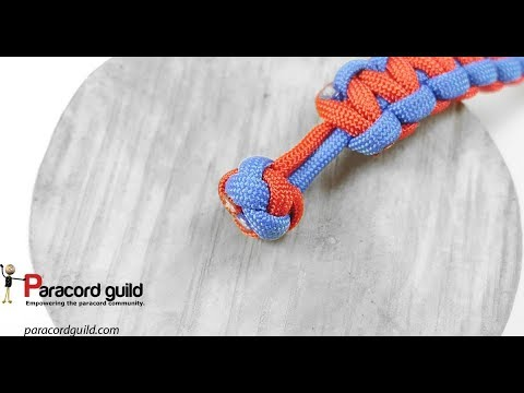 Lanyard knot- B&W edition