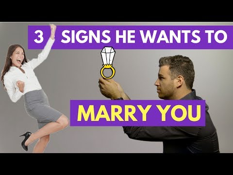 3 Signs He Wants to Marry You Someday | Adam LoDolce