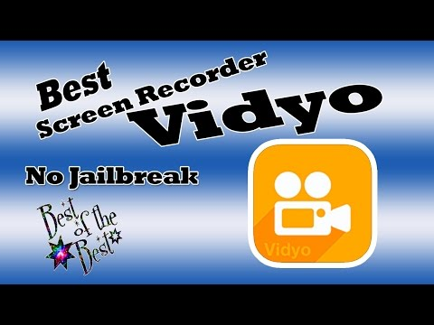 Best FREE Screen Recorder iOS 10 Devices Vidyo December 25 2016
