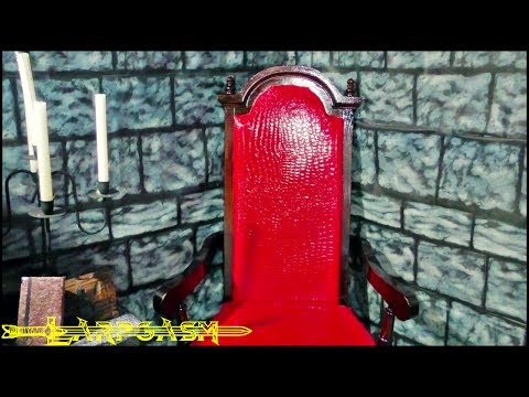 How To Make A Medieval Dragon Hide Throne From An Old Chair (Pt.2)
