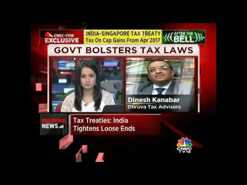 INDIA-SINGAPORE TAX TREATY Tax On Cap Gains From Apr 2017