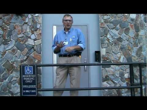 First Safety Video At the Outside Door of the Student Shop