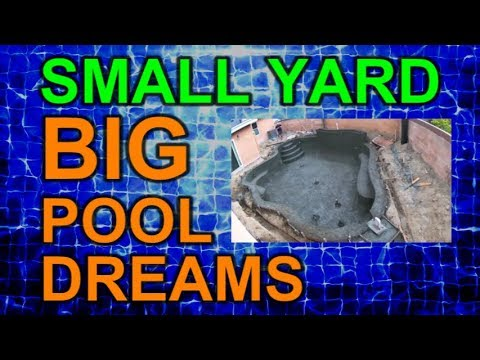 Shotcrete Gunite Time Lapse Video Ep 13 Small Yard Big Pool Dreams