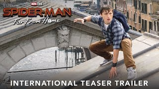 Download SPIDER-MAN: FAR FROM HOME – International Teaser Trailer Video