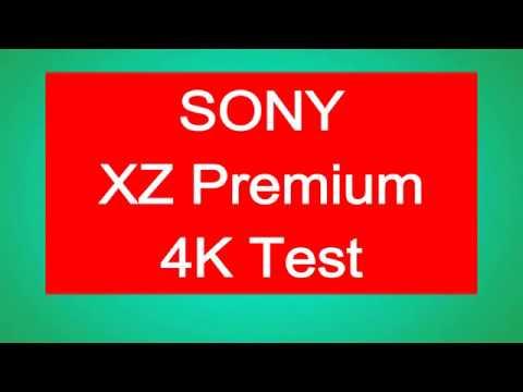 Sony Xperia XZ Premium Camera Test 4K