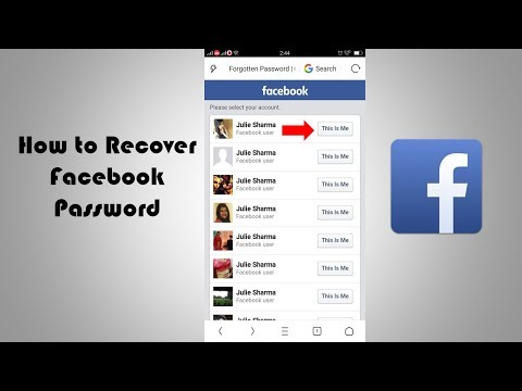 How to Recover Facebook Password 2019 On Mobile