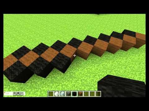 Minecraft Statue Tutorials Part 2: Iron Pickaxe