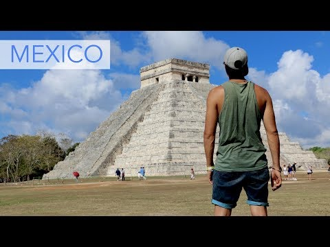 Travel Mexico by bus and by car - Road trip from Mexico City to Holbox