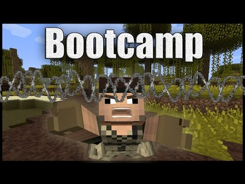 Welcome to Boot Camp Episode 1 [Minecraft Machinima]