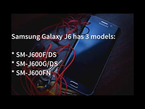 Samsung Galaxy J6 with SM-J600F/DS, SM-J600G/DS & SM-J600FN Spotted