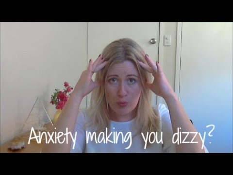 When anxiety causes dizziness and makes you light-headed...
