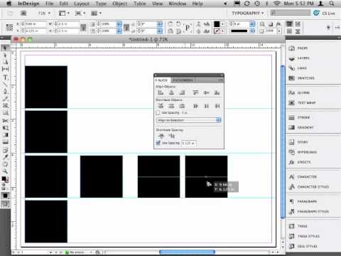 Found Like Type Project: InDesign Setup