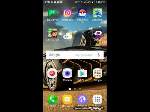 How to record on the Samsung galaxy on5