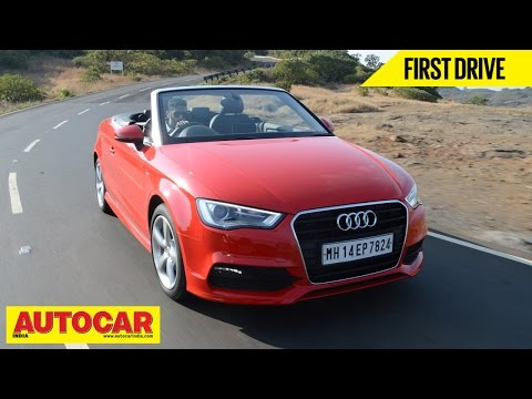 Audi A3 Cabriolet | First Drive Video Review | Autocar India