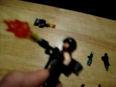 CALL OF DUTY WORLD AT WAR ZOMBIES LEGO GUNS FROME THE GAME PART 2