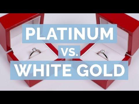 Platinum vs. White Gold | The Diamond Pro Guide