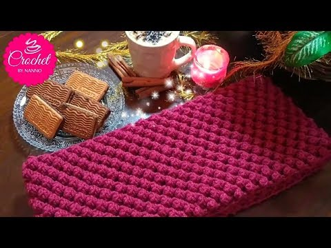How to Crochet Scarf Cowl /Stitch #1   Fast & Easy for all l☕ The Crochet Shop xmas gift