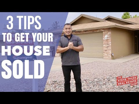 Phoenix Arizona Real Estate - 3 Must Do's To Get Your House Sold
