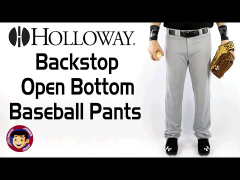 Holloway Backstop Open Bottom Baseball Pants - Homegrown Sporting Goods
