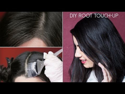 How To Do A Root Touch-Up At Home - Quick and Easy Tutorial | Tips by Glamrs.com