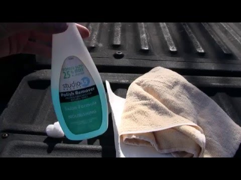 HOW TO REMOVE TREE SAP FROM CAR PAINT