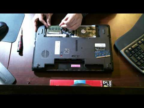 How To Replace Or Upgrade Ram Acer Aspire 5742z