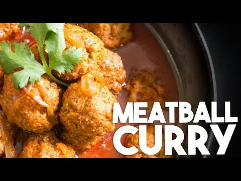 🍲 MEATBALL CURRY | Mom's recipe for Spiced KOFTAS in a Coconut gravy | Kravings