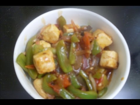 Sweet, Sour and Spicy Paneer