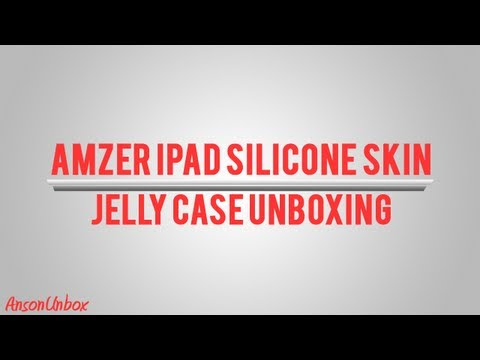 Amzer iPad Silicone Skin Jelly Case [Unboxing]
