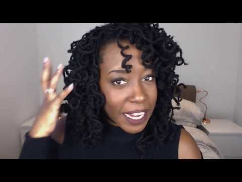 How to curl your Dreadlocks with NO accessories ! - NEW LINK BELOW!!!!