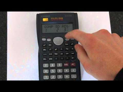 Casio fx-82MS: Degrees, Radians and Gradians