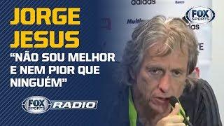 JORGE JESUS INCOMODA OS TÉCNICOS BRASILEIROS? Assunto gera debate no