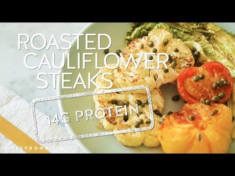 How to Make Roasted Cauliflower Steak