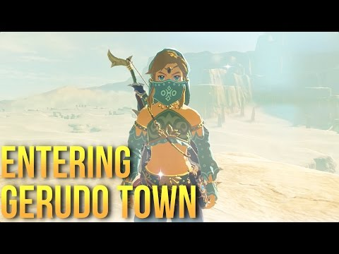 How to Get Into Gerudo Town   Legend of Zelda: Breath of the Wild Guide ☑️