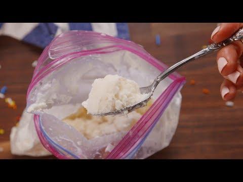 Ice Cream in a Bag | Delish