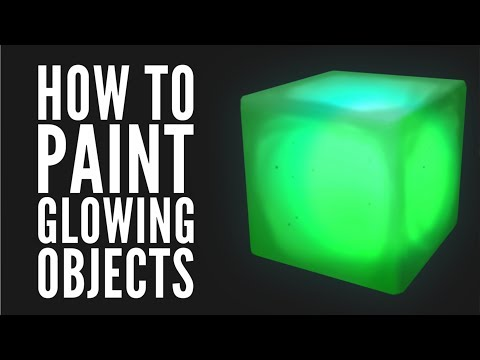 How to Paint Glowing Objects