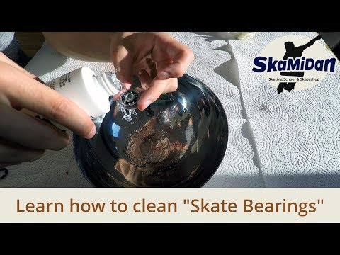 How To Clean Skate Bearings Perfectly - Best Maintenance For Bearings - Inline Know How Basics #07