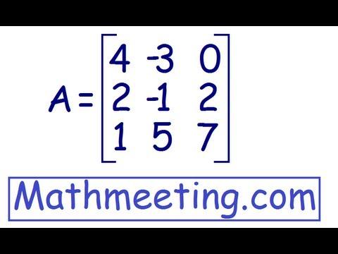 Determinant of 3x3 matrix