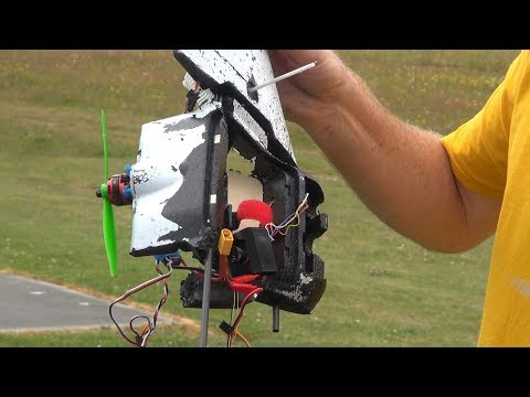 Australian travels 1,500 miles to crash his RC plane (again)