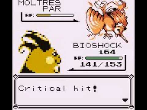 Pokemon Red-Catching Moltres