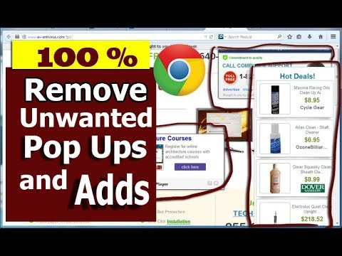 HOW TO STOP POPUP AND ADDS IN GOOGLE CHROME