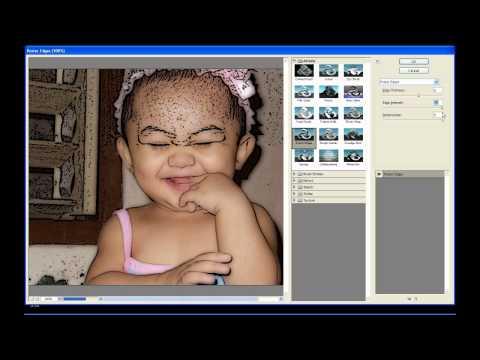 how to make yourself cartoon in adobe photoshop cs3