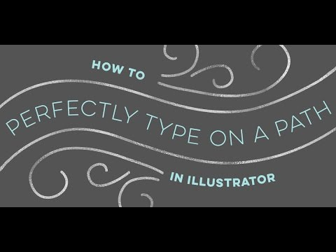 How to Perfectly Type on a Path in Illustrator